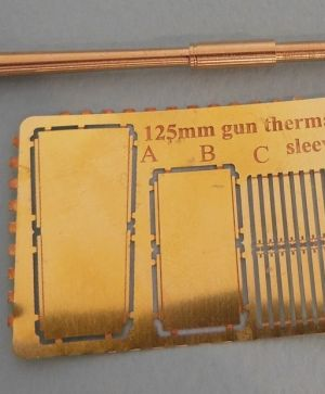 1/72 125 mm metal barrel for T-64/72/80/90