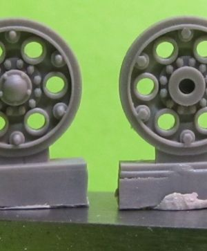 1/72 Sprocket wheel for T-34,mod.1940 type 2