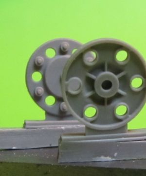 1/72 Sprocket wheel for T-34,mod.1943
