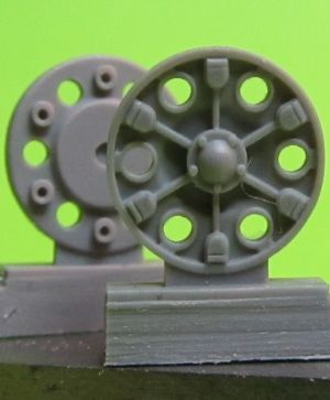 1/72 Sprocket wheel for T-34,mod.1943-45 type 1