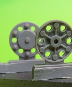 1/72 Sprocket wheel for T-34,mod.1943-45 type 2