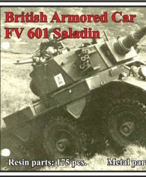 1/72 British Armored Car FV 601 Saladin