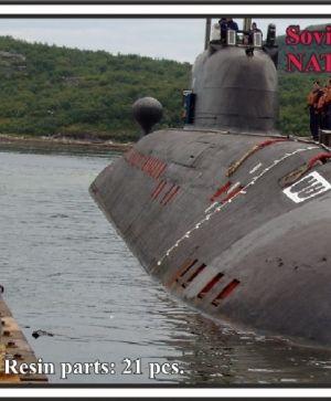 Soviet submarine project 671 RTM Schtuka  (NATO name Victor III)