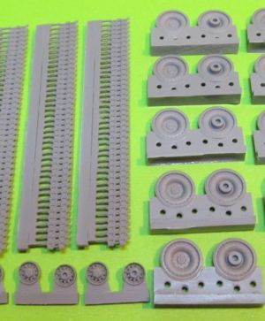1/72 Wheels and tracks set for M551 Sheridan
