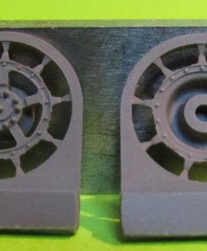 1/72 Sprockets for Tiger II,Jagtiger,E50,E75,Lowe, 9 tooth type 1
