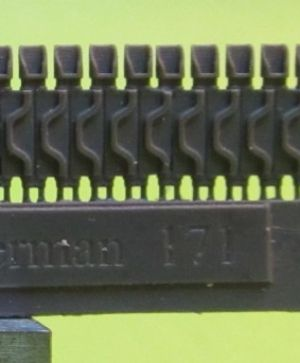 1/72 Tracks for M4 family, T74 with extended end connectors type 3