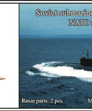 1/700 Soviet submarine project 661 Anchar (NATO name Papa)