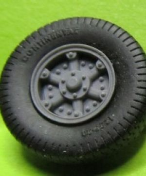 1/72 Wheels for Vomag 7 or 660, type 2