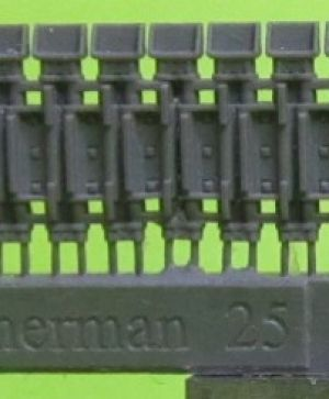 Tracks for M4 family, T56 with extended end connectors type 1