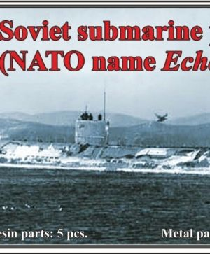 1/700 Soviet submarine project 659 (NATO name Echo I)