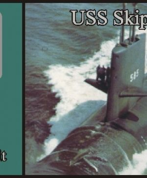 USS Skipjack class submarine, WATERLINE, (2 per set)
