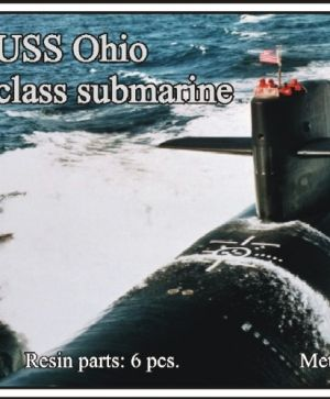 1/700 USS Ohio class submarine