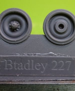 1/72 Wheels for M2/3, AAV7, M270, late