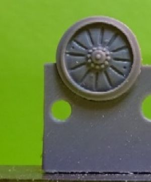 1/72 Wheels for BMP 1/2 , type 2