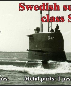 Swedish submarine class Sjöormen