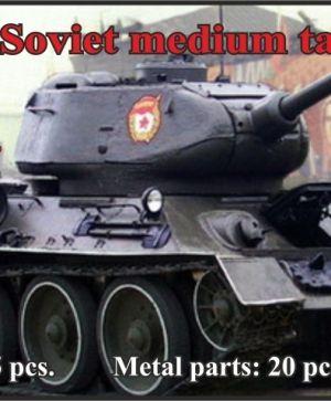 Soviet medium tank T-34-85