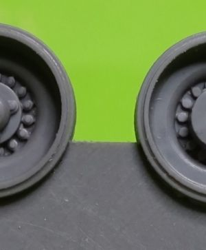 1/72 Wheels for Leopard 2