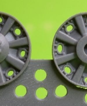 1/72 Idler wheel for Pz.III,early