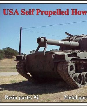 USA Self Propelled Howitzer M53/55