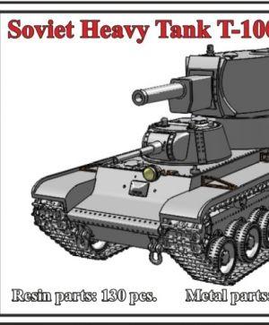 1/72 Soviet Heavy Tank T-100Z