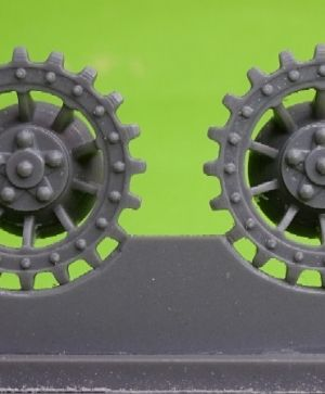 1/72 Sprockets for Tiger I, type 2