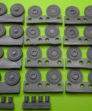 1/72 Wheels for Pz.V Panther, steel
