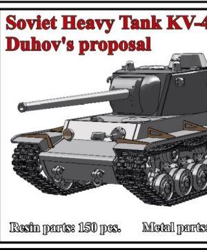 1/72 Soviet Heavy Tank KV-4, Duhov's proposal