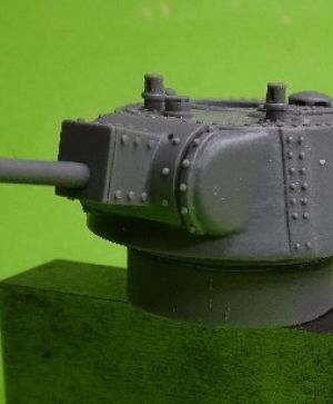 1/72 Soviet Heavy Tank T-100 with L-11 gun