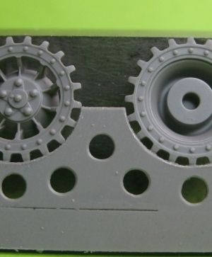 1/72 Sprockets for Tiger I, type 3