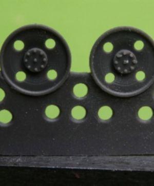 1/72 Idler wheel for Hetzer, type 8