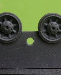 1/72 Wheels for Pz.IV, Ausf. E-J