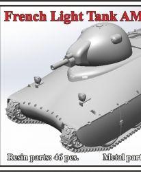 French Light Tank AMX-40