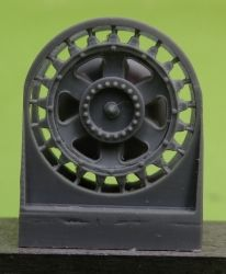 1/72 Sprockets for Pz.III, late without hub cap