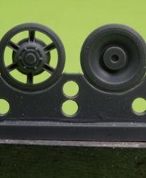 1/72 Idler wheel for Pz.V Panther, late