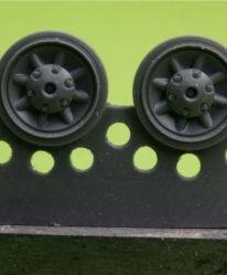 1/48 Wheels for Pz.IV, Ausf. E-J
