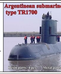 1/700 Argentinean submarine type TR1700