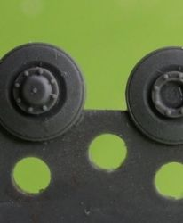 1/72 Wheels for Pz.IV, metal