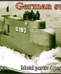 1/700 German submarine Type 205