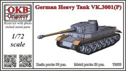 1/72 German Heavy Tank VK.3001(P)