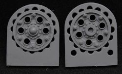 1/35 Sprocket wheel for T-34,mod.1940 type 1 (35010)