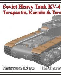 1/72 Soviet Heavy Tank KV-4, Tarapantin, Kuzmin & Tarotko's proposal
