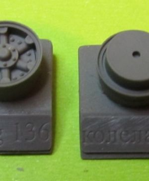1/72 Wheels for Vomag 7 or 660, type 3