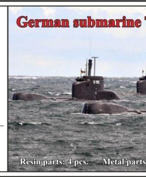 1/350 German submarine Type 206A