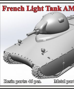 French Light Tank AMX-40