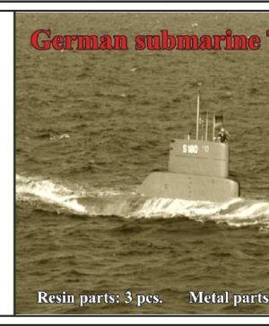 1/350 German submarine Type 205A