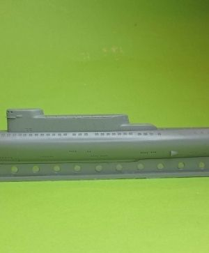 1/700 Soviet submarine project 701 (NATO name Hotel III)