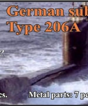 German submarine Type 206A