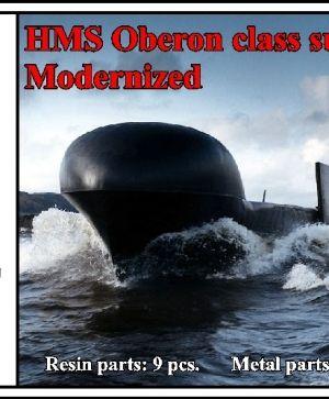 HMS Oberon class submarine, modernized