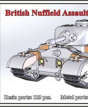 1/72 British Nuffield Assault Tank A.T.2