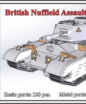 1/72 British Nuffield Assault Tank A.T.1